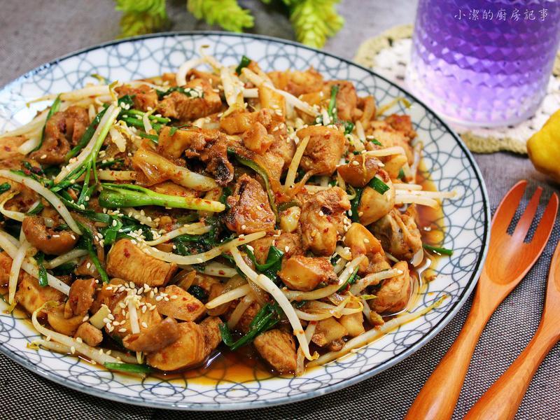 峽谷快炒 - 韓式辣炒雞胸章魚