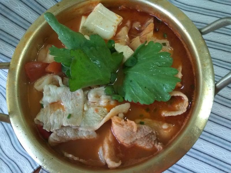 鮮香麻辣蔬菜豆腐鍋