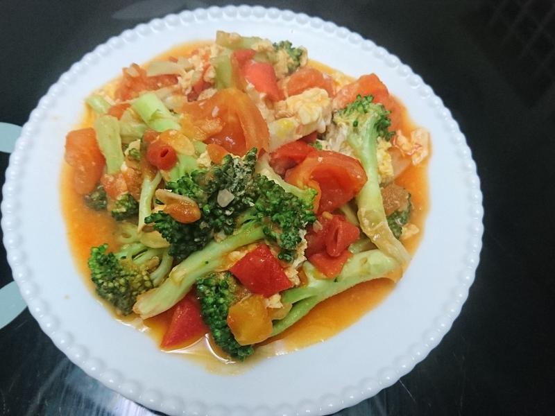 蔬菜番茄蛋