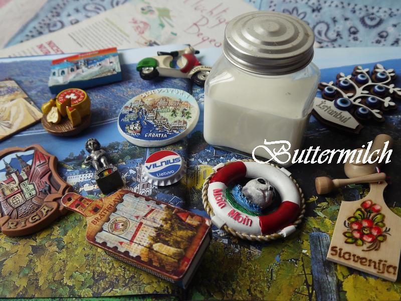 簡易白脫牛奶(Buttermilch)