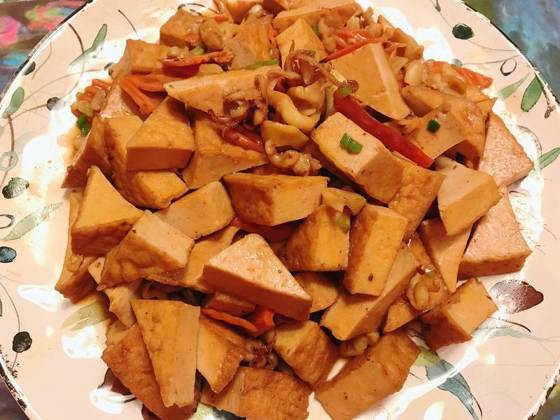 豆豉油豆腐