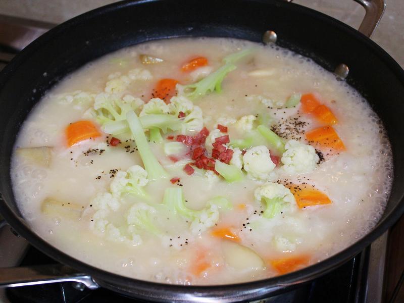冰霜燉菜 (白醬燉菜)