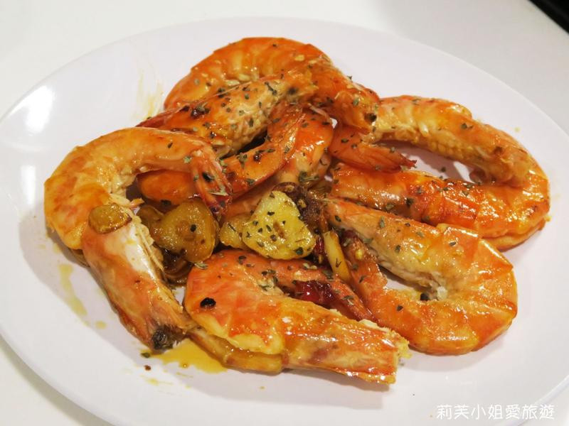 15分鐘快速上菜之橄欖油蒜炒鮮蝦
