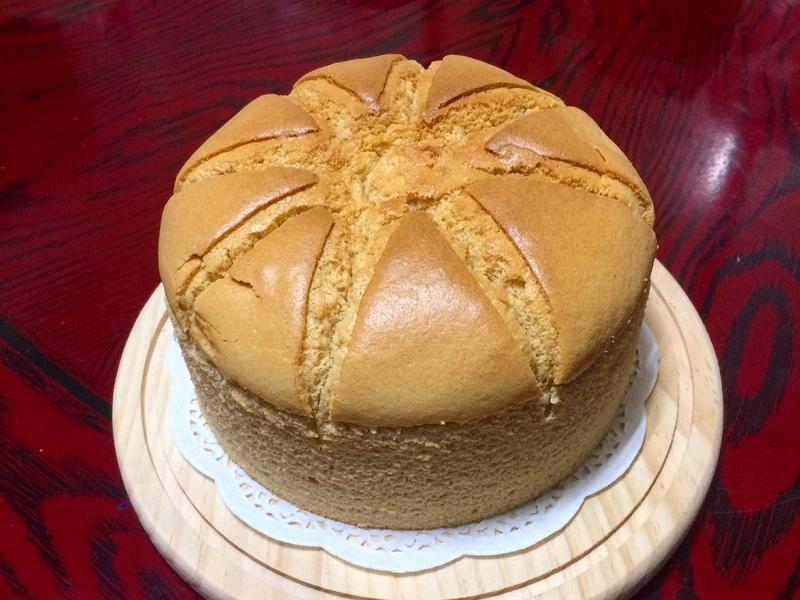 泰式奶茶戚風蛋糕