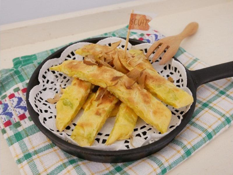 寶寶副食品「大阪燒」外酥內軟手指食物 ♪
