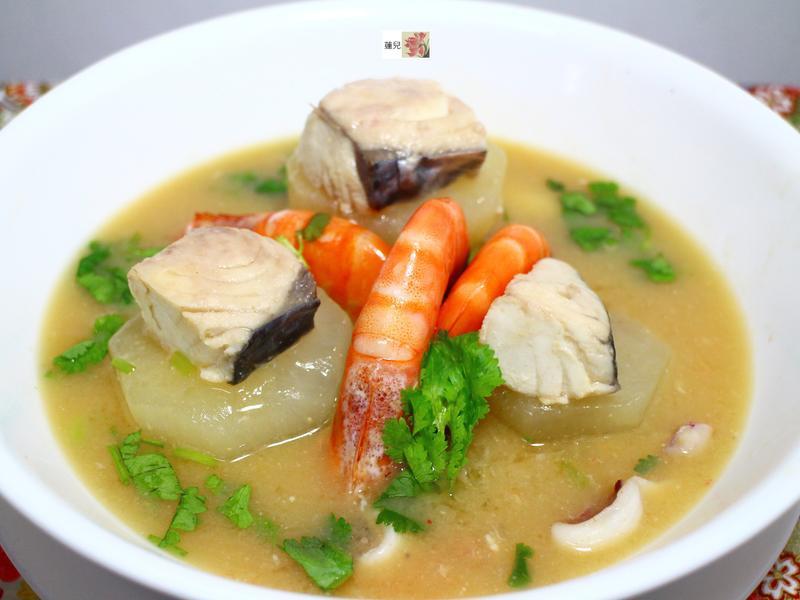 海鮮蘿蔔味增湯