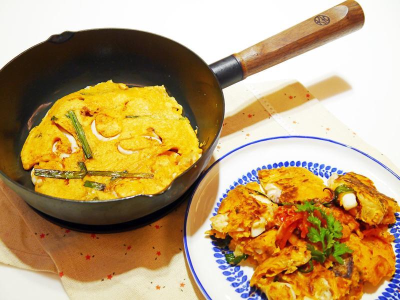 泡菜海鮮煎餅