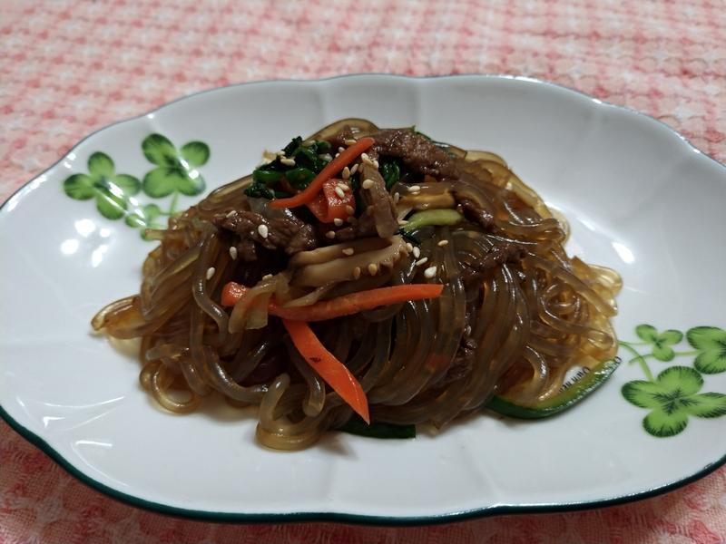 韓國雜菜(잡채)