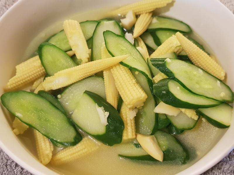 小黃瓜炒玉米筍