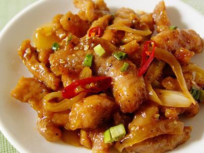 【厚生廚房】洋蔥豬柳