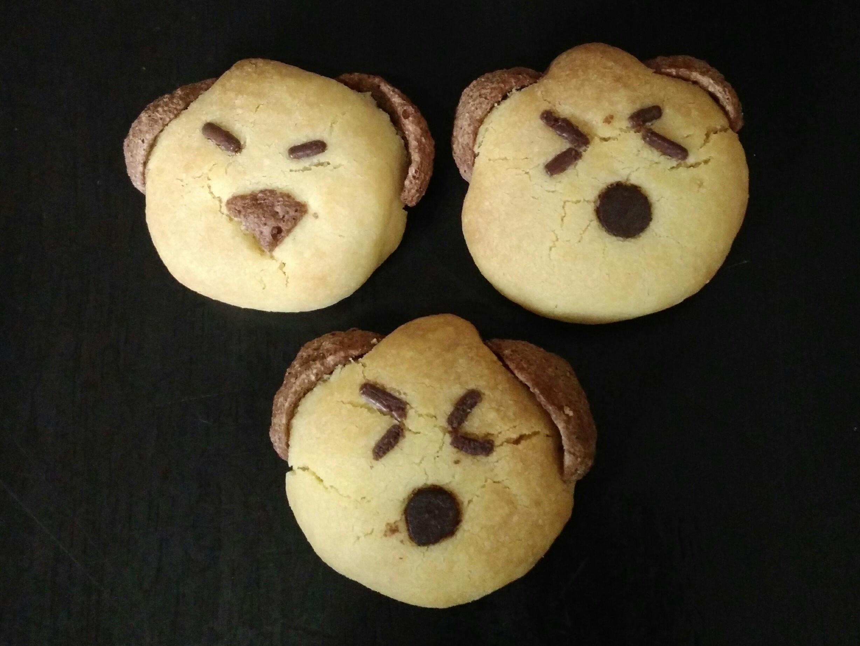 奶粉狗狗造型饼干