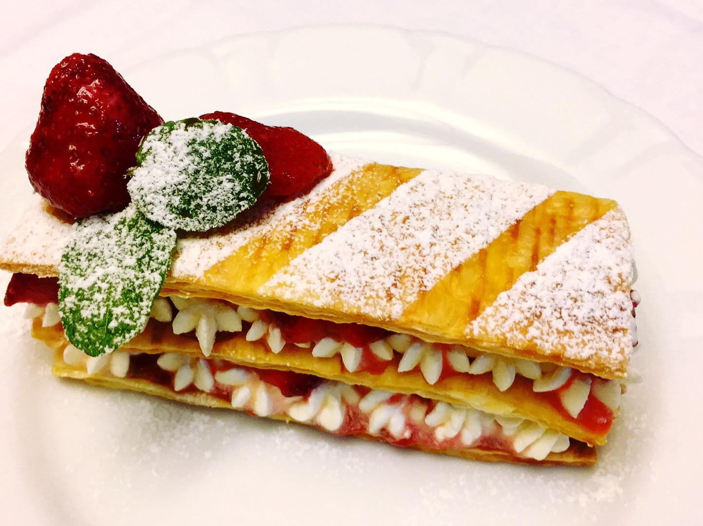 🍓草莓鮮奶油果醬千層酥🍓