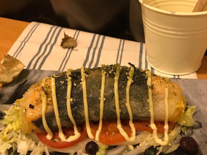 歐式魚抱蛋春卷
