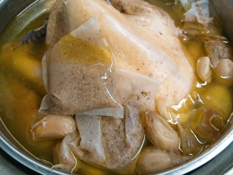 肉骨茶雞湯3吃