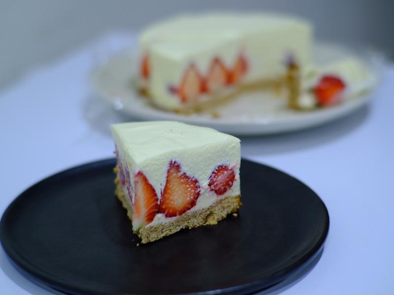 🍓草莓生乳酪蛋糕