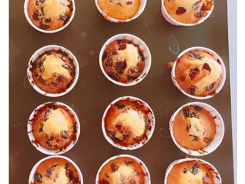 莓果小蛋糕