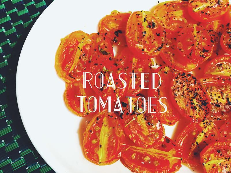 義式慢烤小番茄
