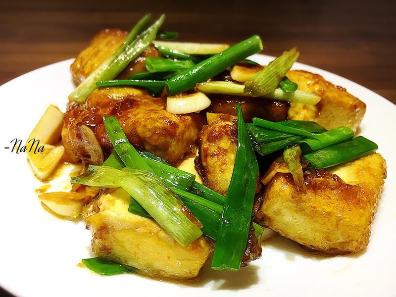 紅燒豆腐-簡單又超級下飯的!