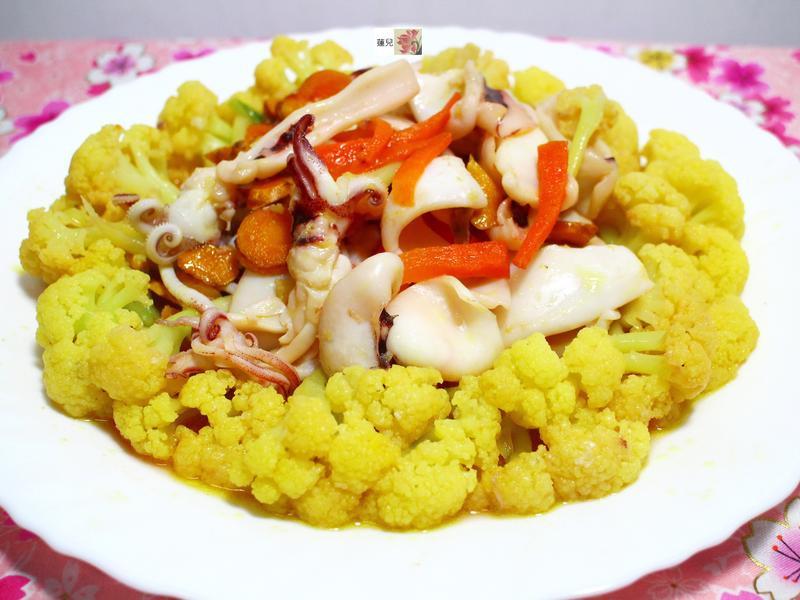 白花椰菜特別料理