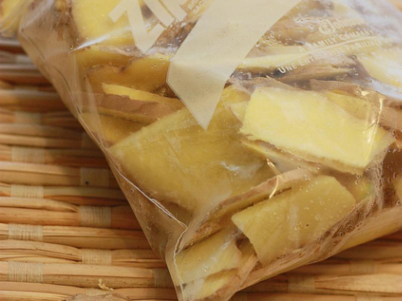 【廚房秘訣】薑片收納與延長鮮度的方法