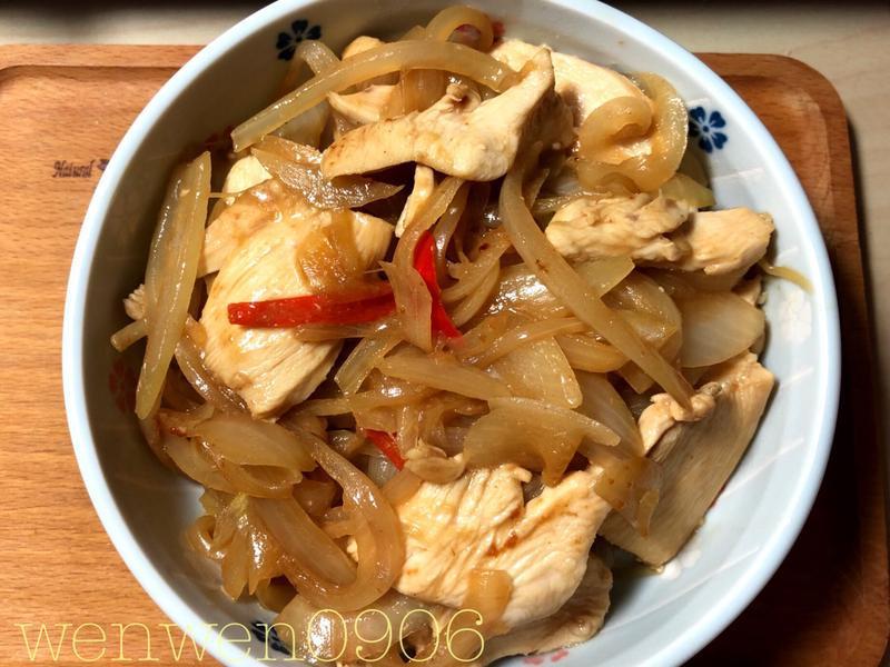 洋蔥嫩雞~健康美味
