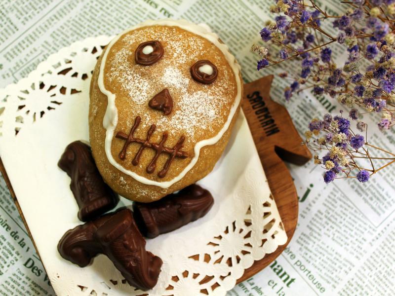 亡者麵包 (巧克力麵包)
