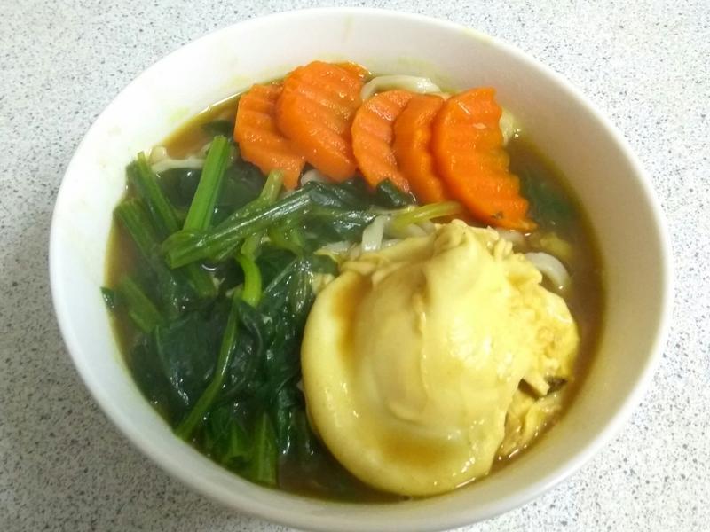 咖哩蔬菜麵