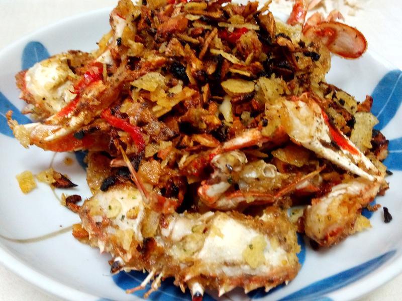 避風塘螃蟹(五香乾蟹)