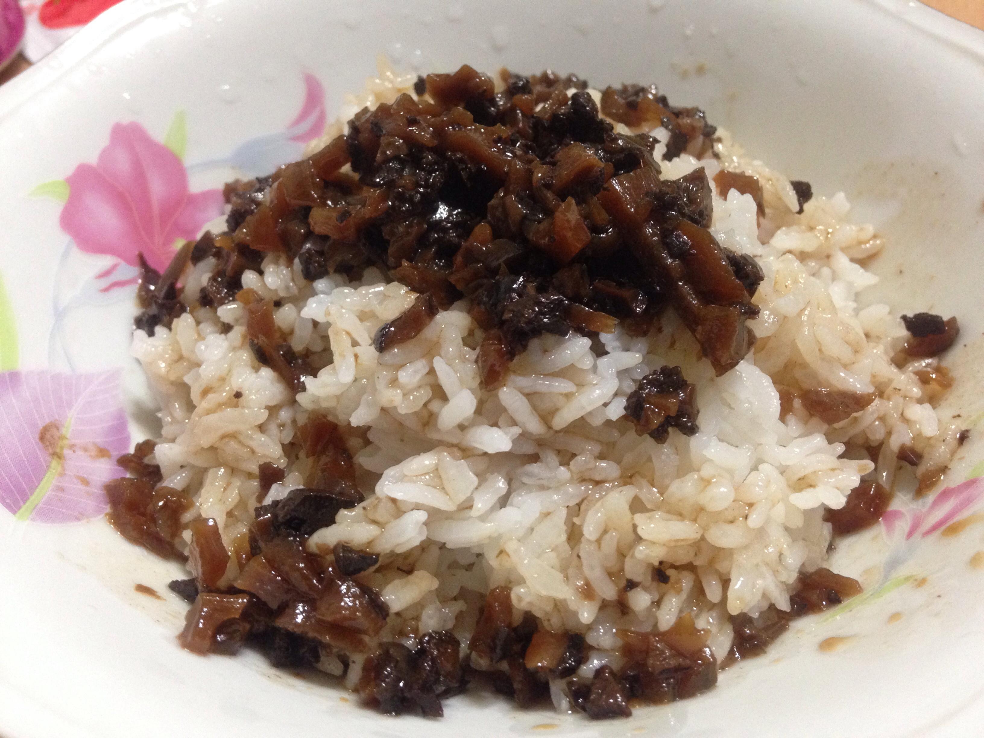 素燥飯(瓦斯爐煮飯版)