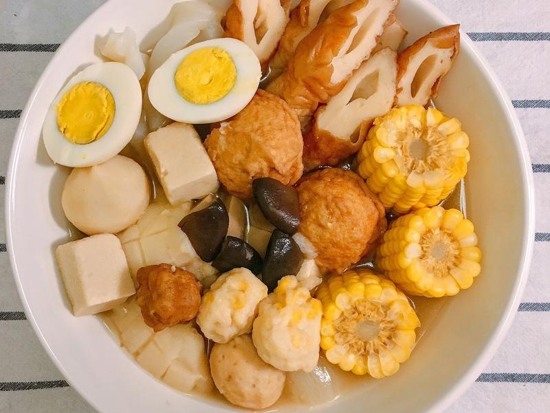 簡單做日式關東煮