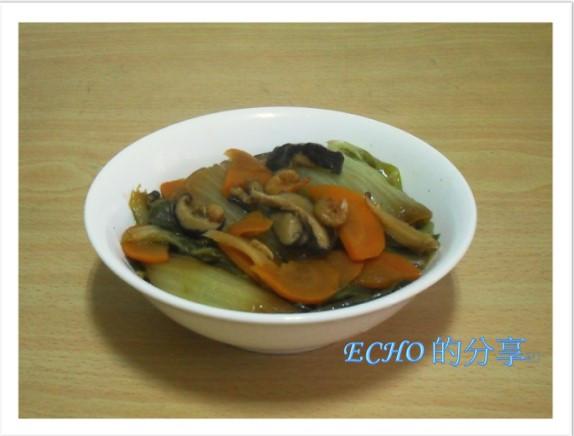 不敗料理:白菜滷-電鍋版