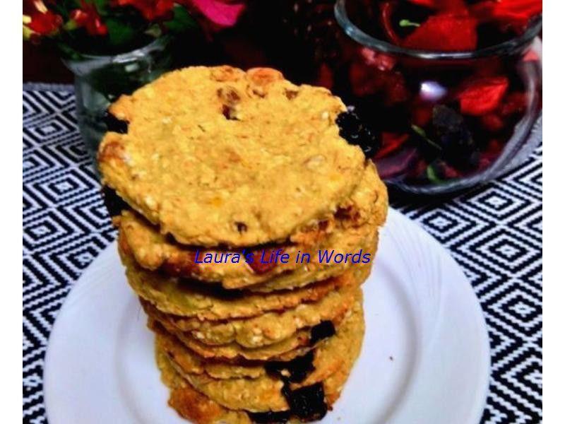 純素地瓜燕麥餅乾(無糖油無蛋奶無麵粉)