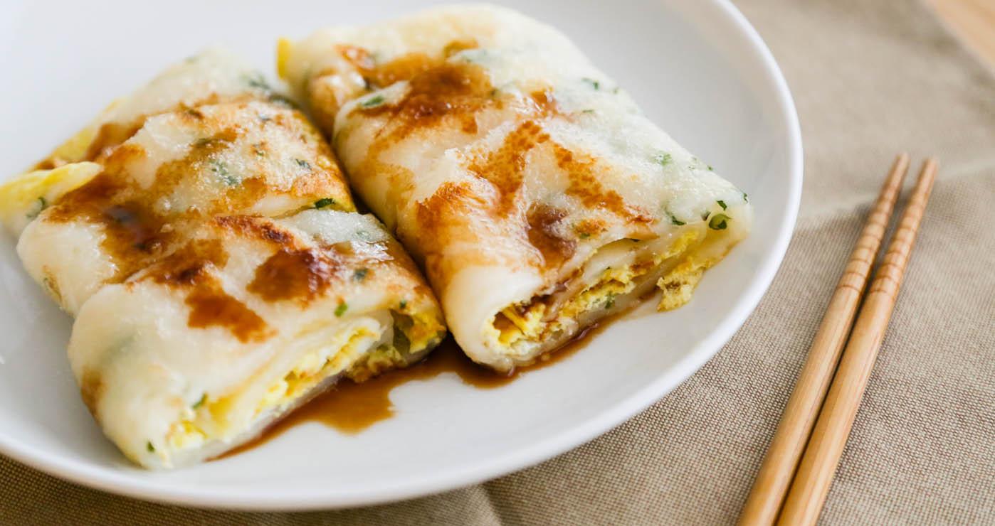從蛋餅皮開始做簡易又美味的傳統蛋餅