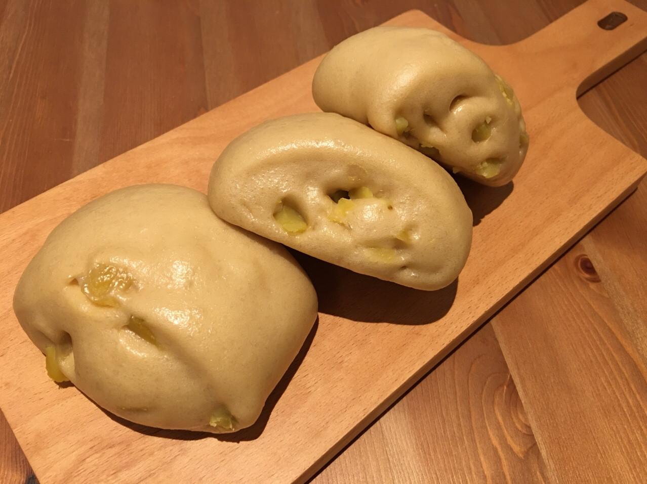 【寶寶食譜】黑糖地瓜饅頭