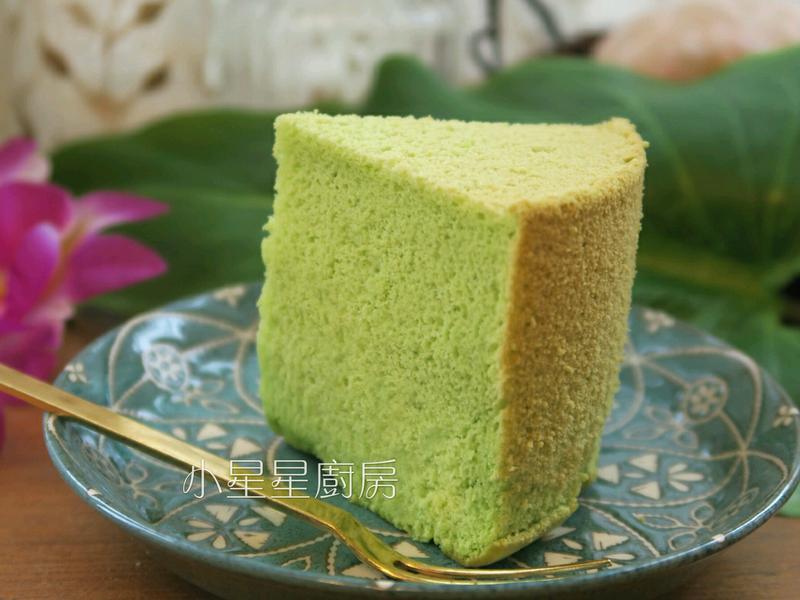 香蘭戚風蛋糕(綠蛋糕)