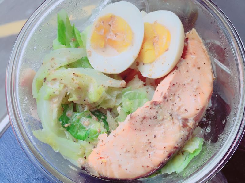 瘦身鮭魚健康餐