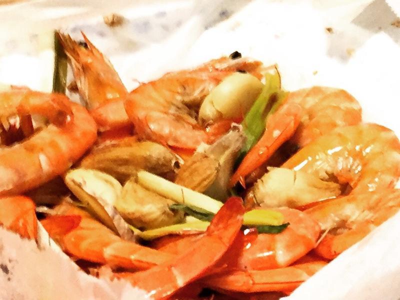 台法混血紙包蝦