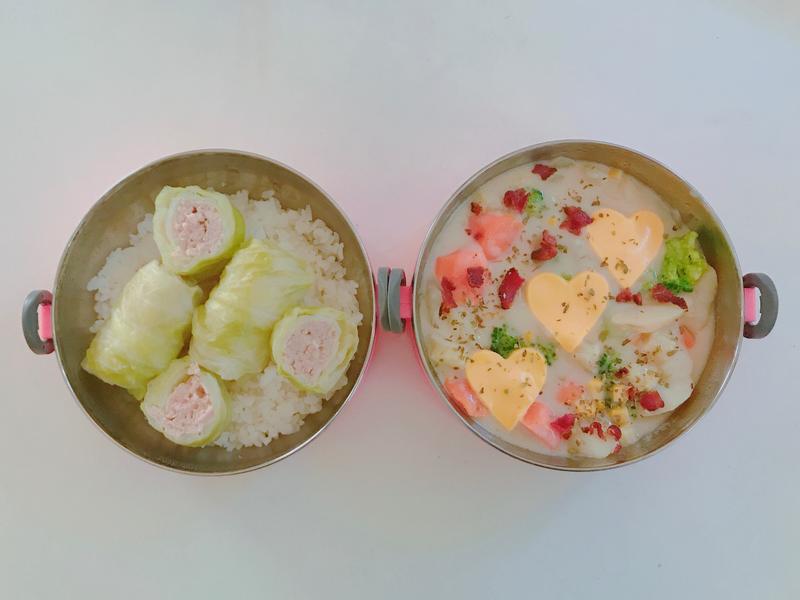 #10 愛妻便當之奶油燉蔬菜豬肉捲