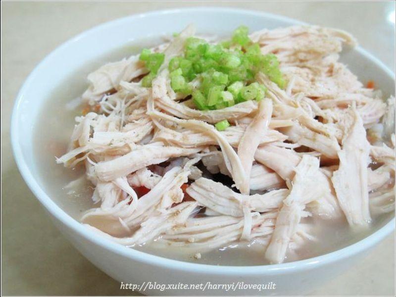 蒲ㄚ雞絲粥