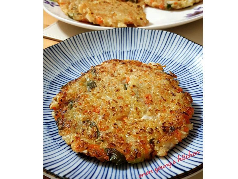 清冰箱料理の蔬菜煎餅
