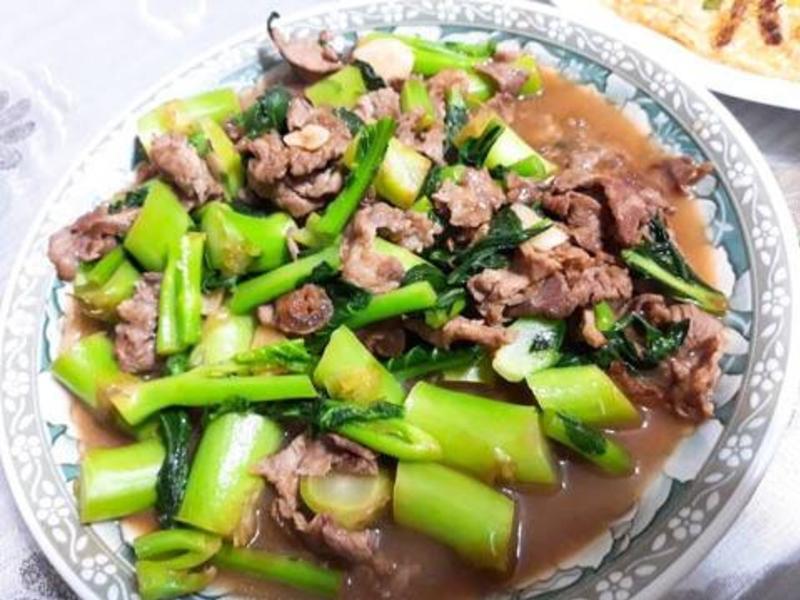 ♡ 芥蘭炒牛肉 ♡