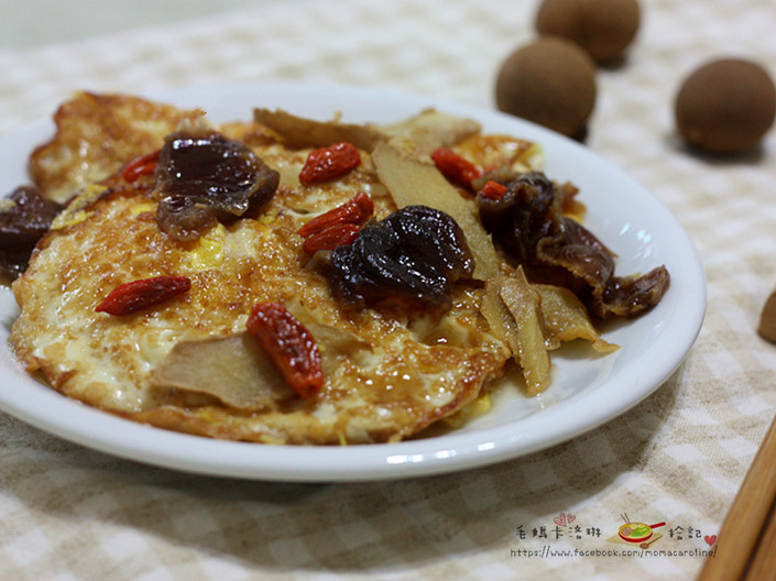 桂圓麻油荷包蛋