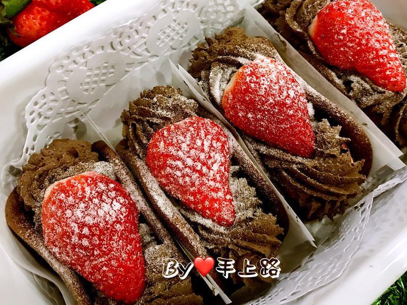🍓草莓可可蛋糕捲🍓