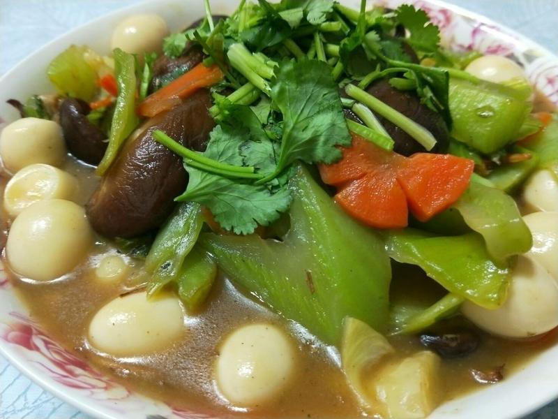 山珍海味燴芥菜