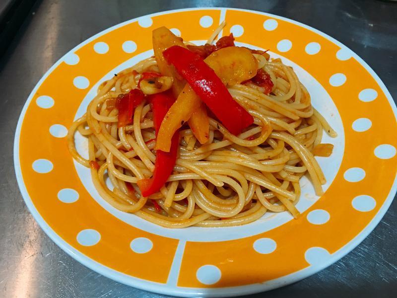 茄醬蔬菜義粉
