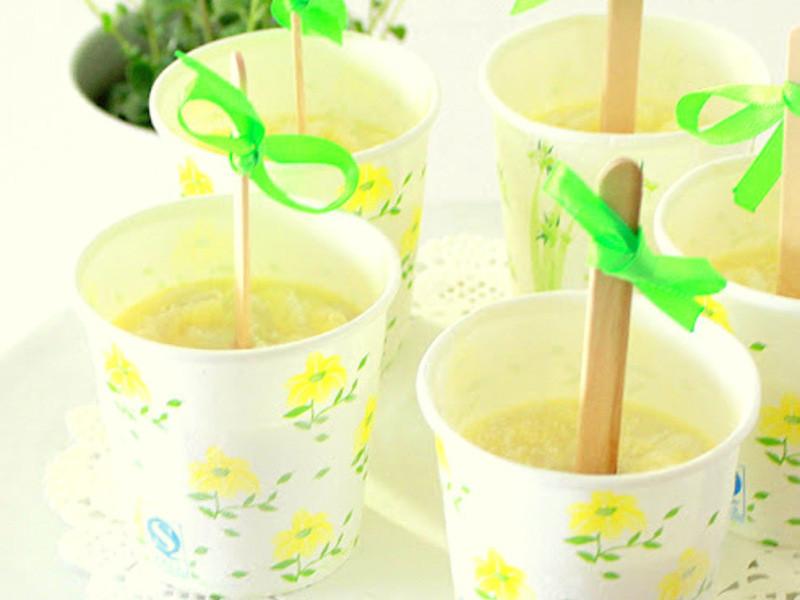 椰汁冰棒 ~ 夏天 cool la la ~ !