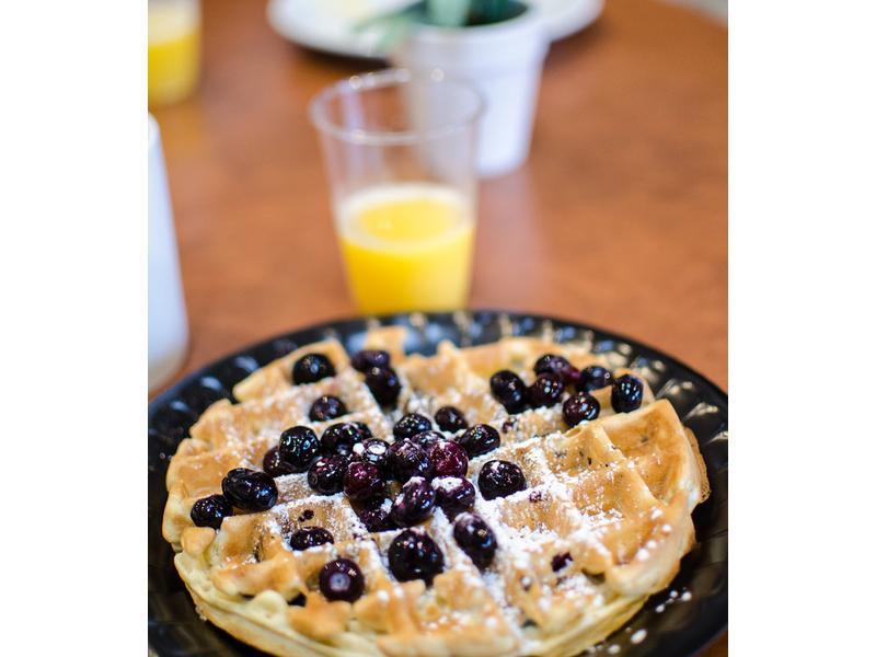 甜在心美味- 懶人藍莓鬆餅