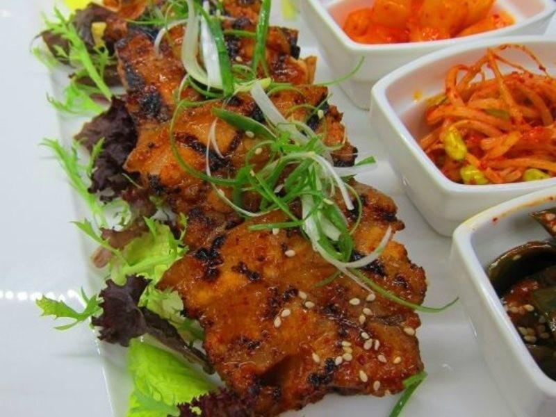 韓式燒烤五花肉