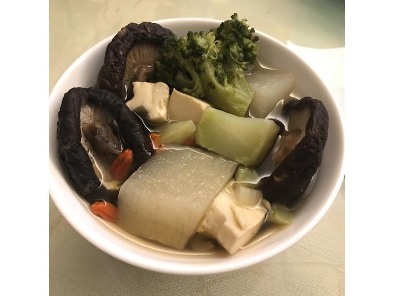 香菇蔬食湯