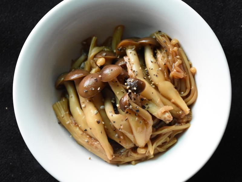 綜合菇類醬油燒